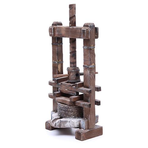 Presse pour aïl 24 cm crèche napolitaine 2