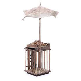 Vente d'oeufs avec parasol 24 cm crèche napolitaine s3