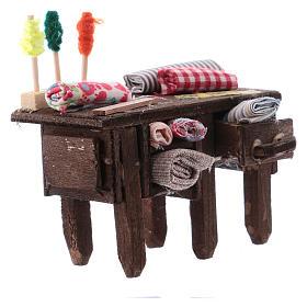 Tailor's table for Neapolitan Nativity measuring 8cm s3