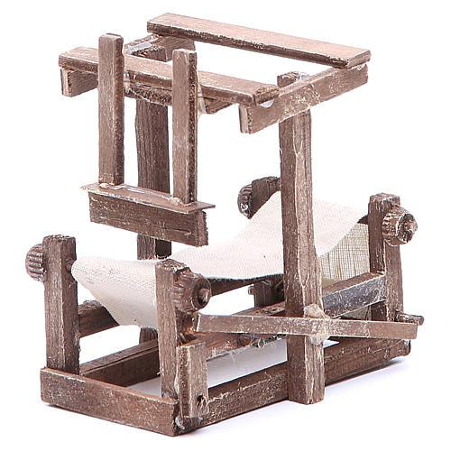 Cadre 10x10x6 cm crèche napolitaine 2
