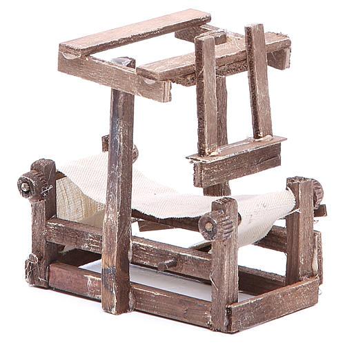 Cadre 10x10x6 cm crèche napolitaine 3