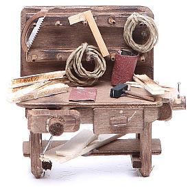 Mesa del carpintero 9x10x5 cm belén napolitano s1
