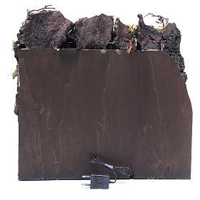 Angolo di presepe arabo 37x10x30 cm s4