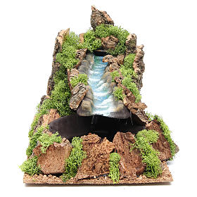 Fiume ambiente presepe 22x22x40 cm s1