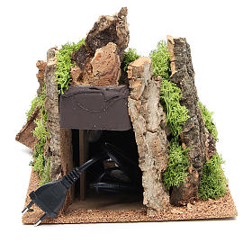 Fiume ambiente presepe 22x22x40 cm s5