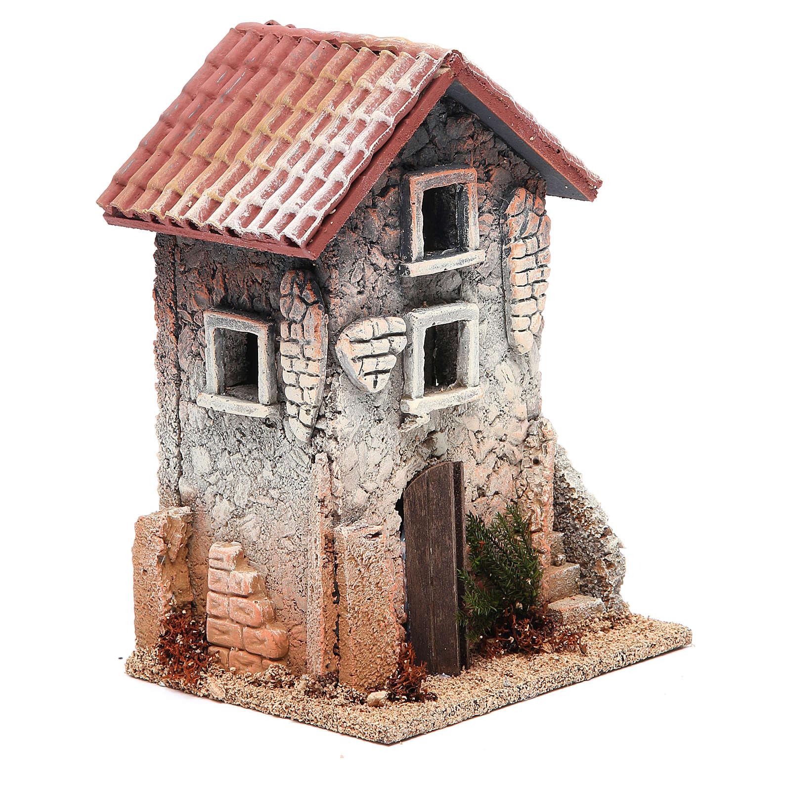 Casa de corcho 21x15x12 belén 4