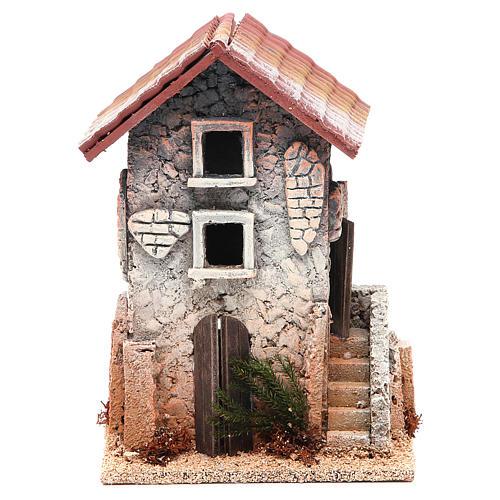 Casa in sughero 21x15x12 presepe 1