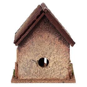 Dom wiejski do szopki 18x15x13 cm s4