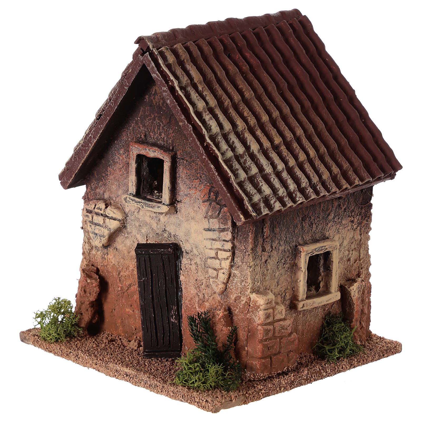 Rural house in cork for nativities measuring 18x15x13cm 4