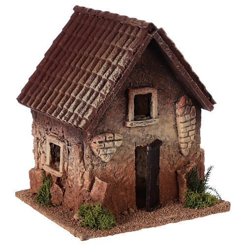 Rural house in cork for nativities measuring 18x15x13cm 3