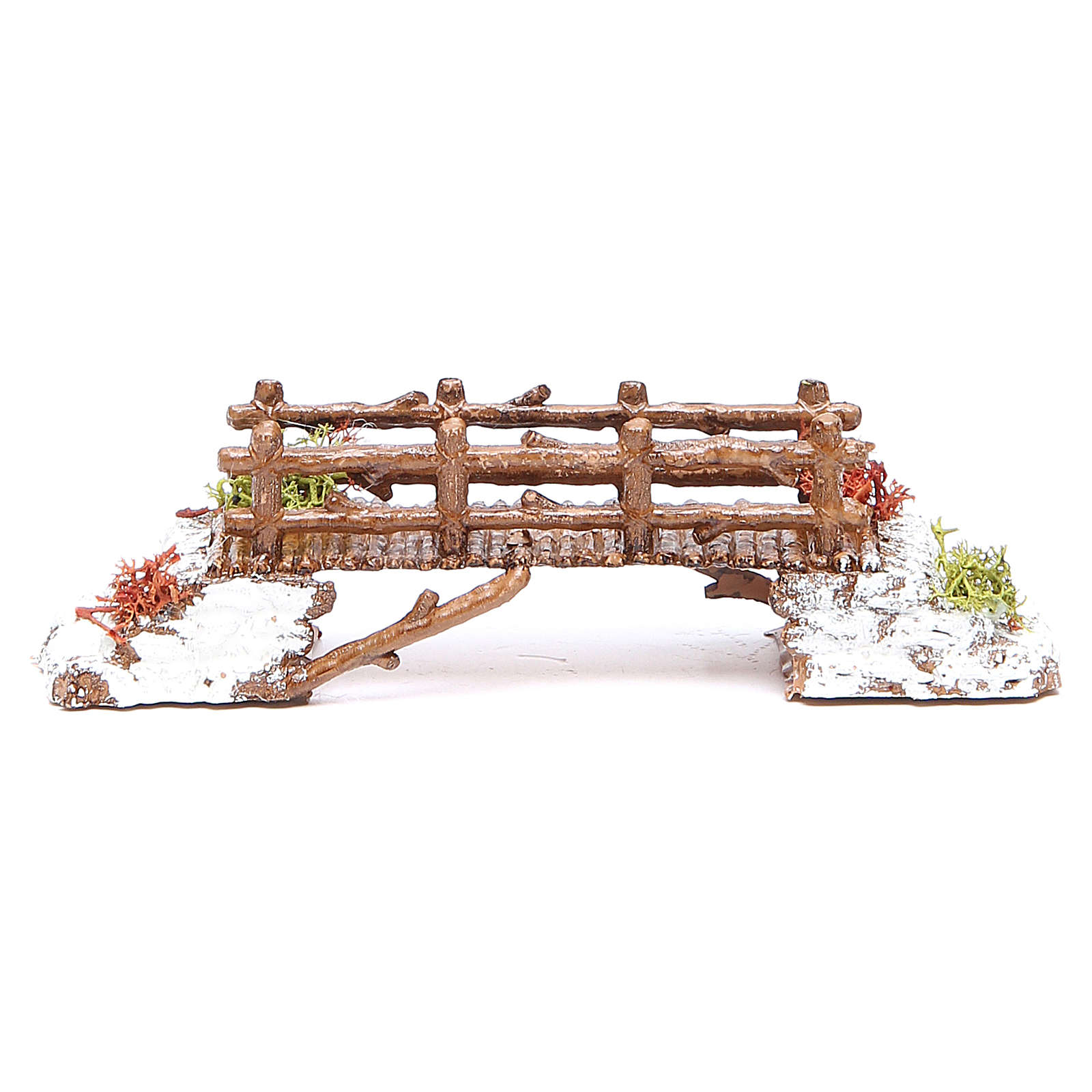 Bridge in PVC for nativities measuring 16x4x4cm 4