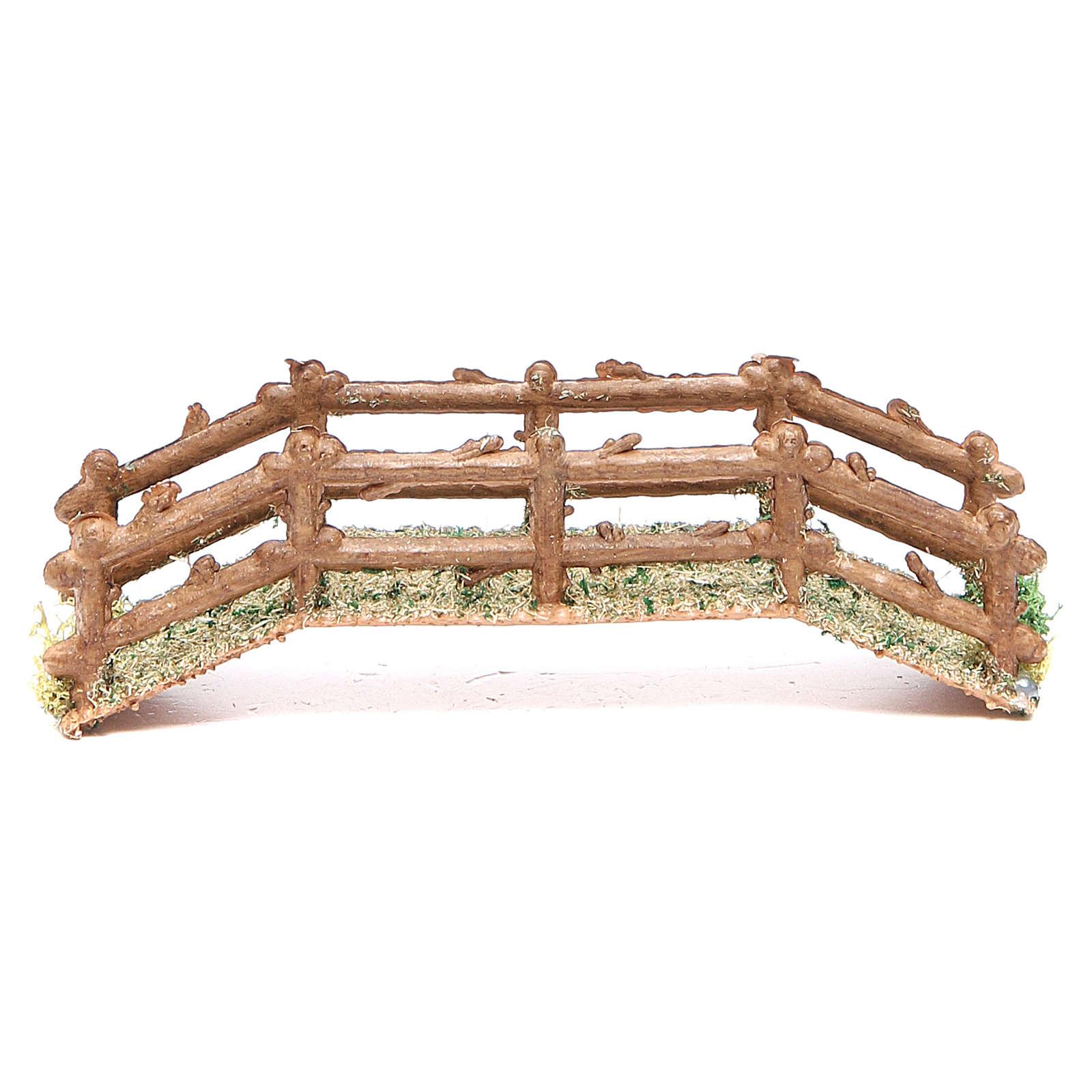 Puente belén hecho con bricolaje pvc 15x5xh. 3 cm 4