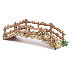 Puente belén hecho con bricolaje pvc 15x5xh. 3 cm s2