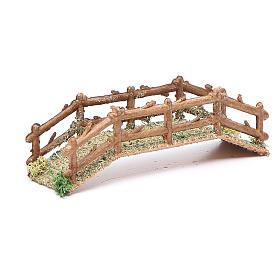 Puente belén hecho con bricolaje pvc 15x5xh. 3 cm s3