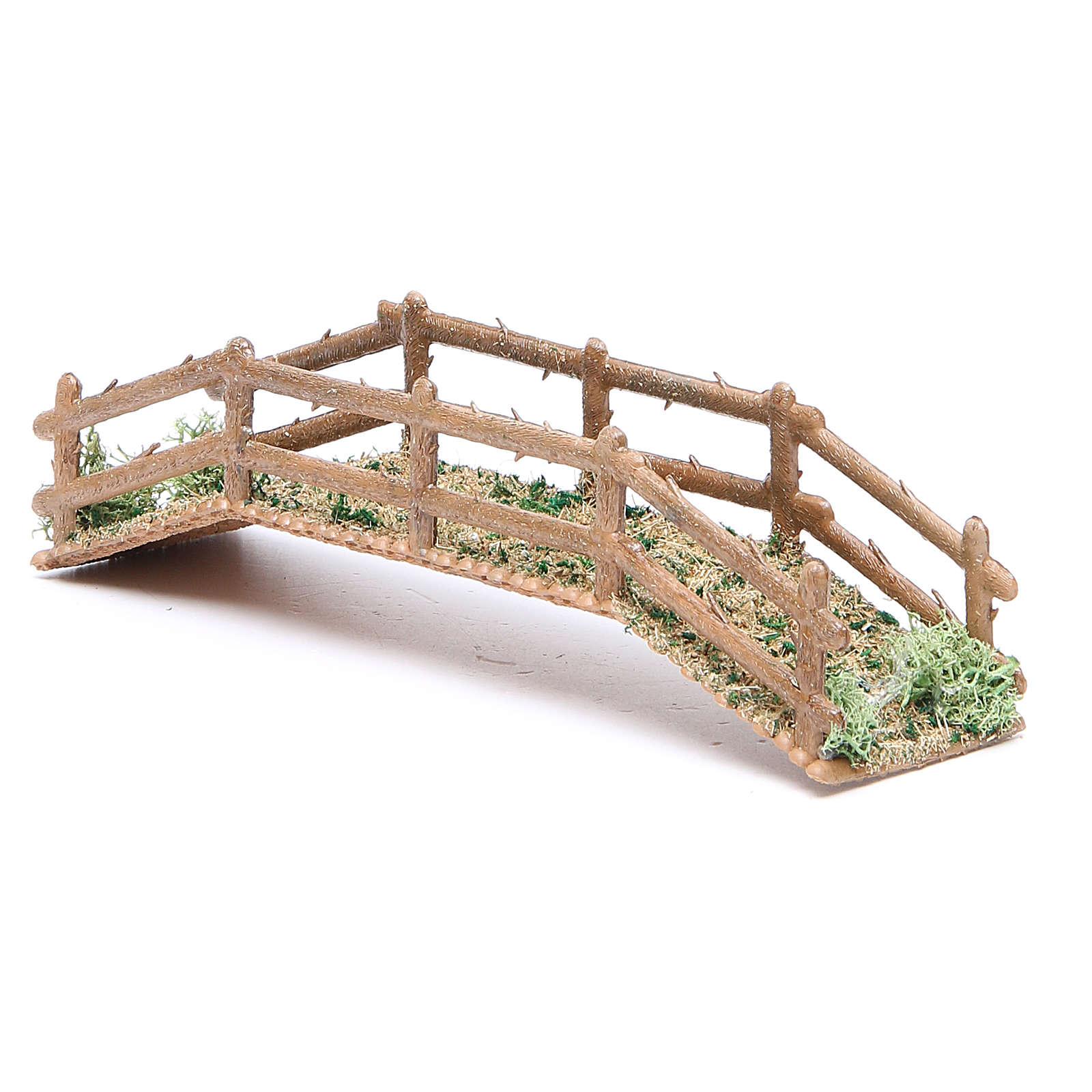Ponte in pvc effetto legno 21x5xh.4 cm 4