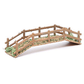 Ponte in pvc effetto legno 21x5xh.4 cm s3