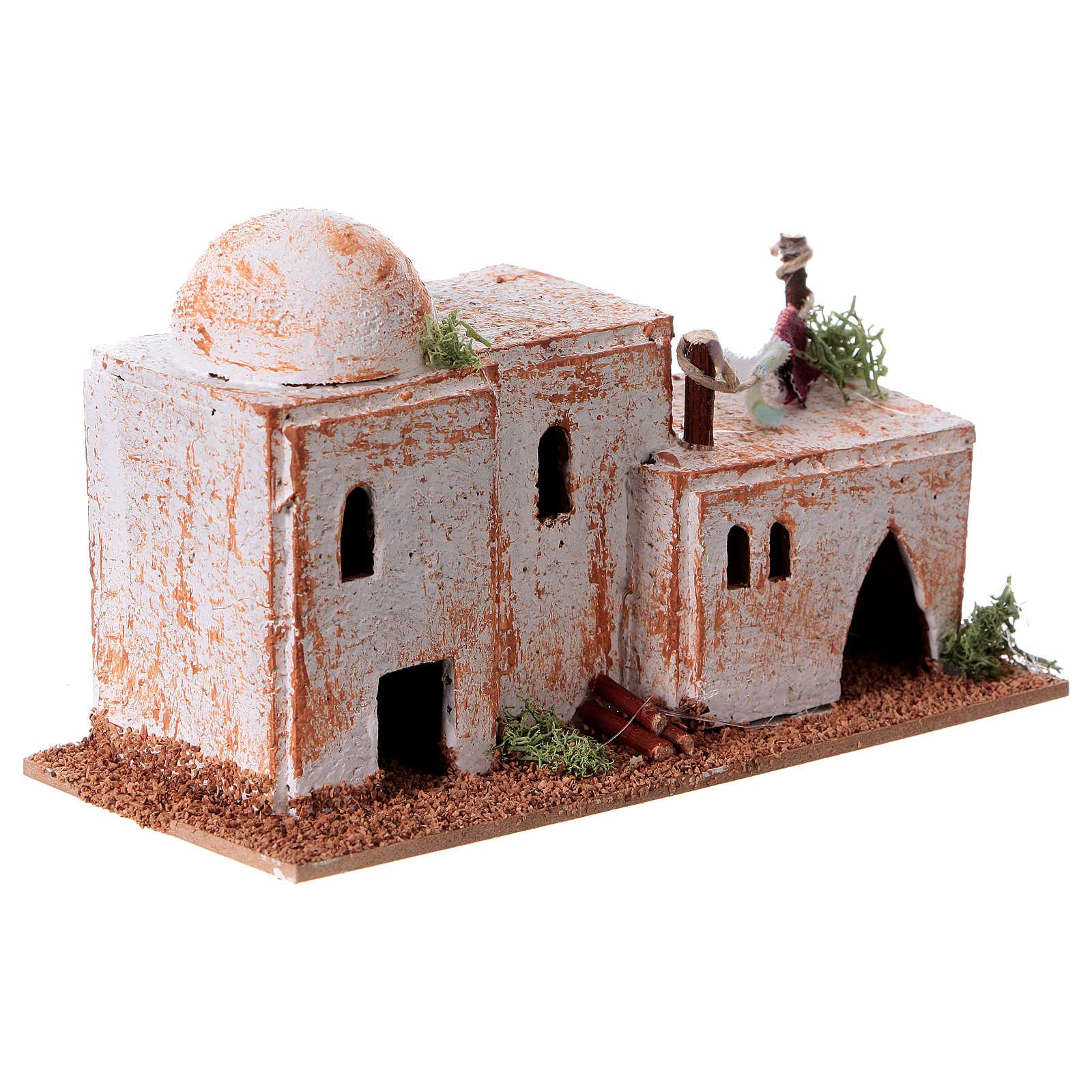 Maison arabe liège 15x7x8 cm 4