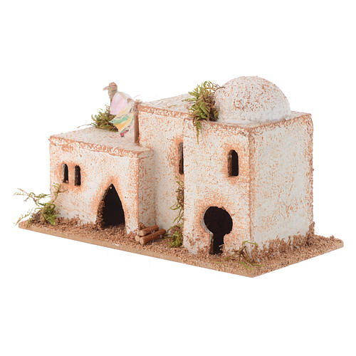 Dom arabski korek 15x7xh.8 cm 2