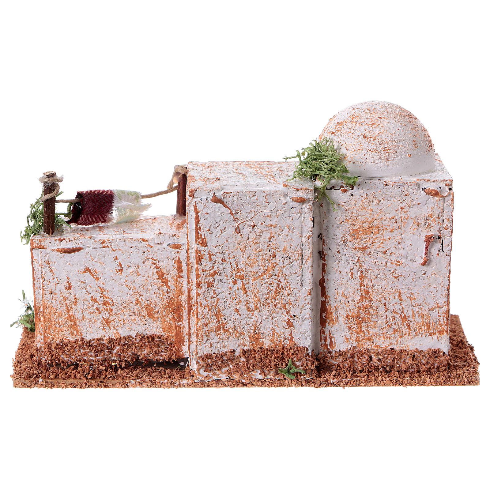 Casa árabe cortiça 15x7xh 8 cm 4
