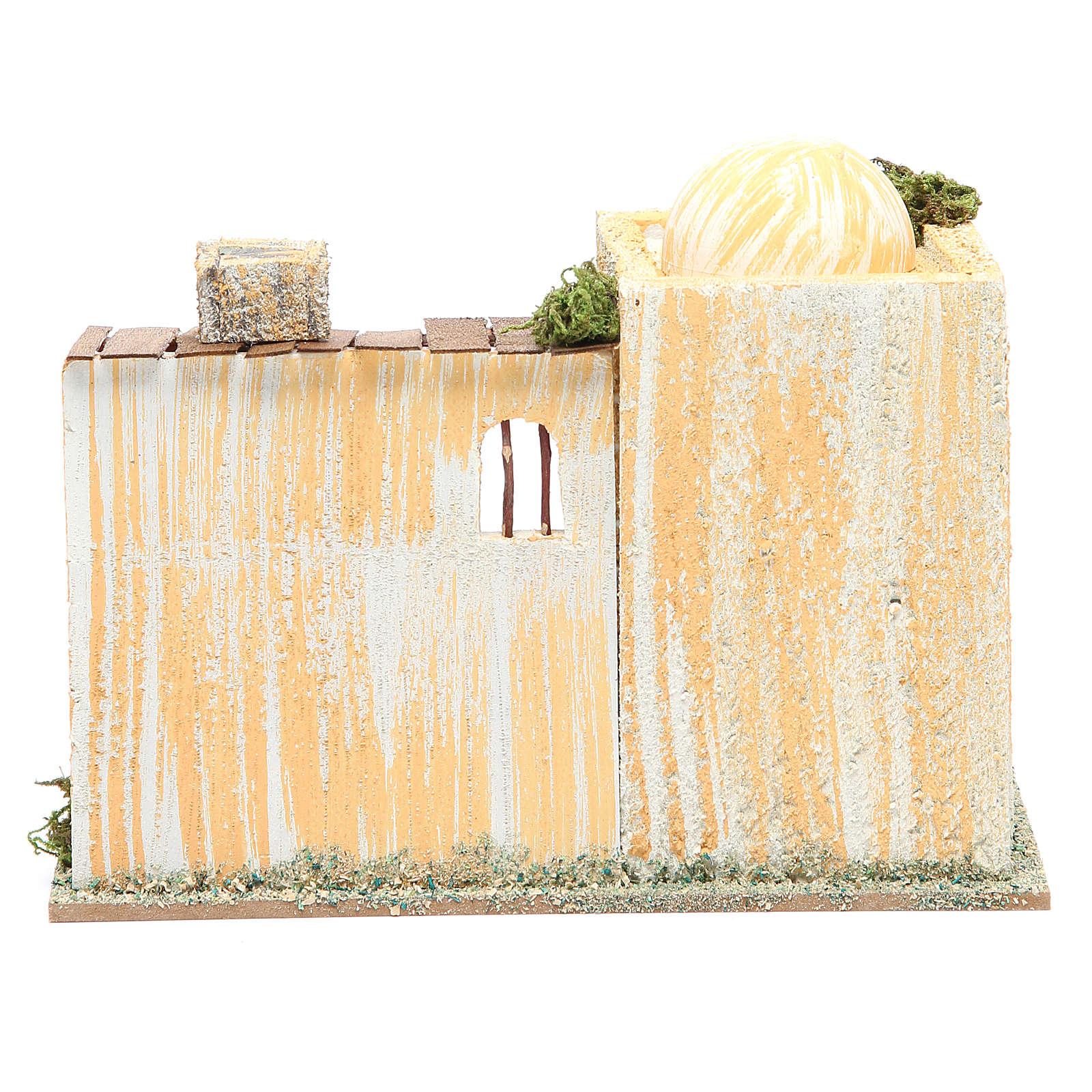 Maison arabe avec four 22x13x18 cm 4