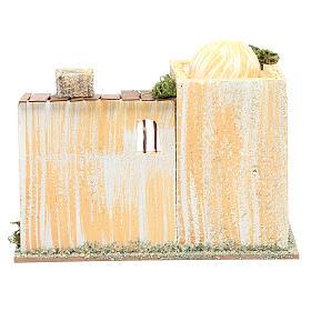 Maison arabe avec four 22x13x18 cm s3