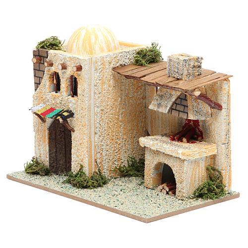 Maison arabe avec four 22x13x18 cm 2