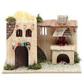 Casa araba con forno 22x13xh. 18 cm s1