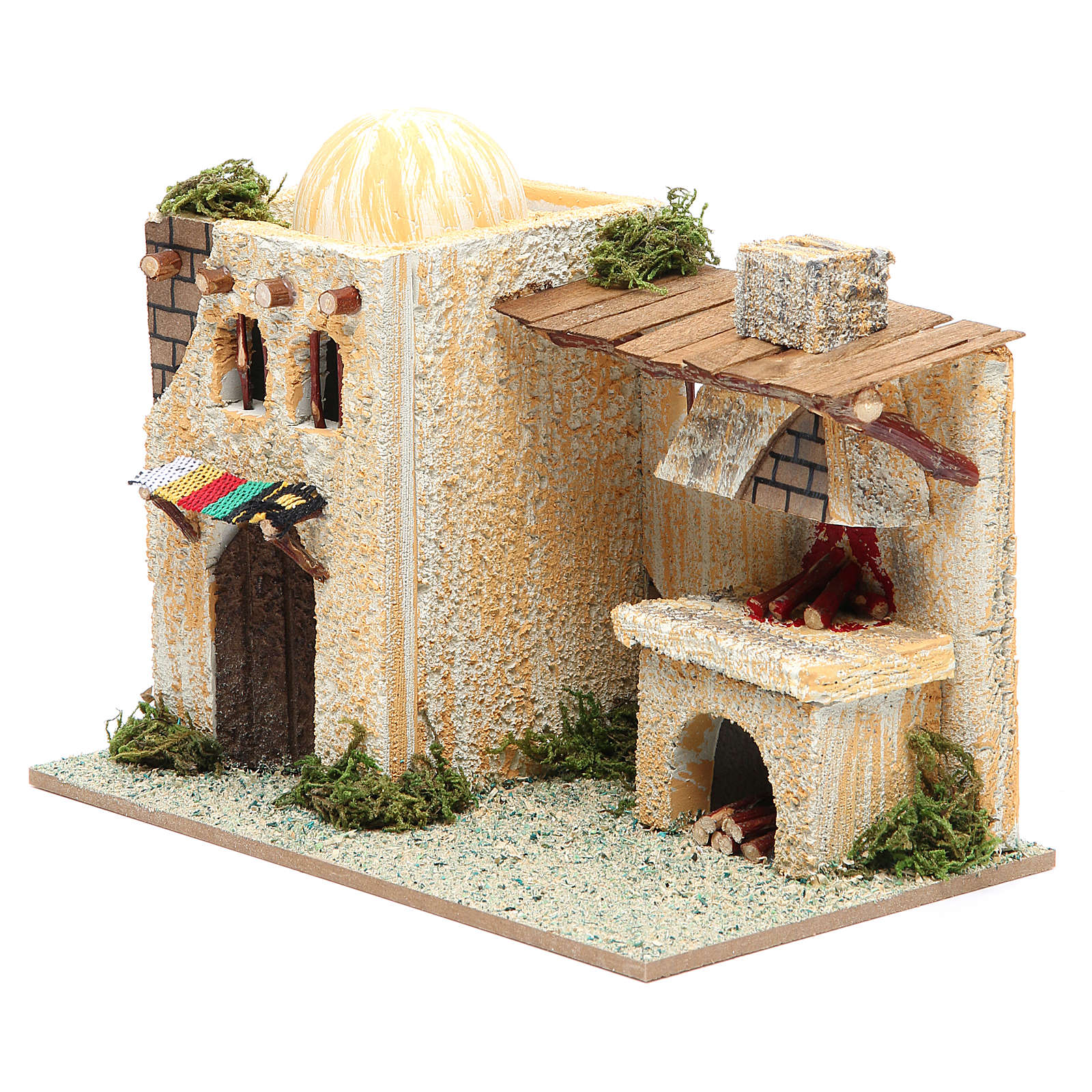 Arabian style house with oven measuring 22x13x18cm 4