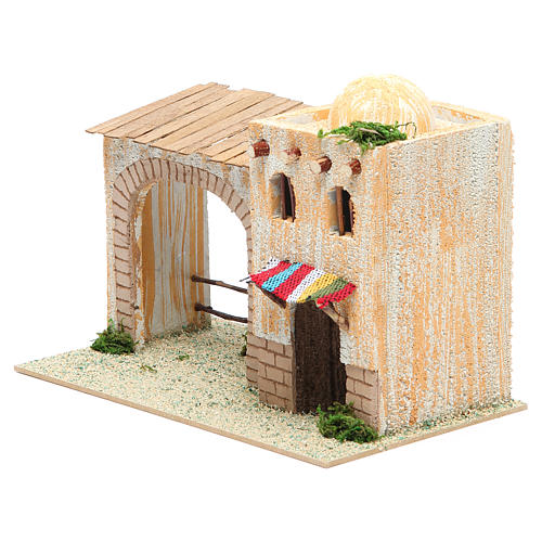 Arabian style house with veranda measuring 22x13x14cm 2