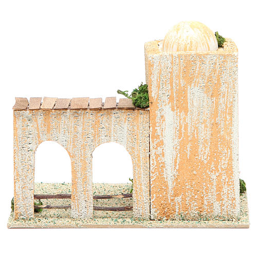 Arabian style house, assorted models, measuring 17x10x12cm 3