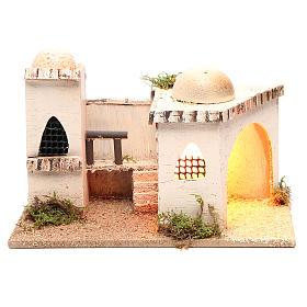 Casa araba con luce 27x16xh.13cm s1