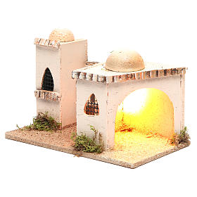 Casa araba con luce 27x16xh.13cm s2