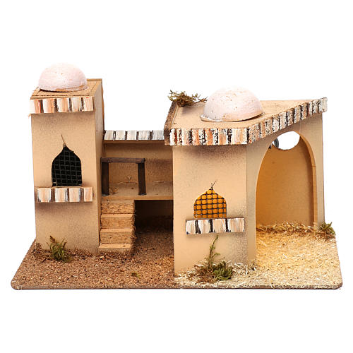 Casa araba con luce 27x16xh.13cm 1
