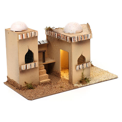 Casa araba con luce 27x16xh.13cm 3
