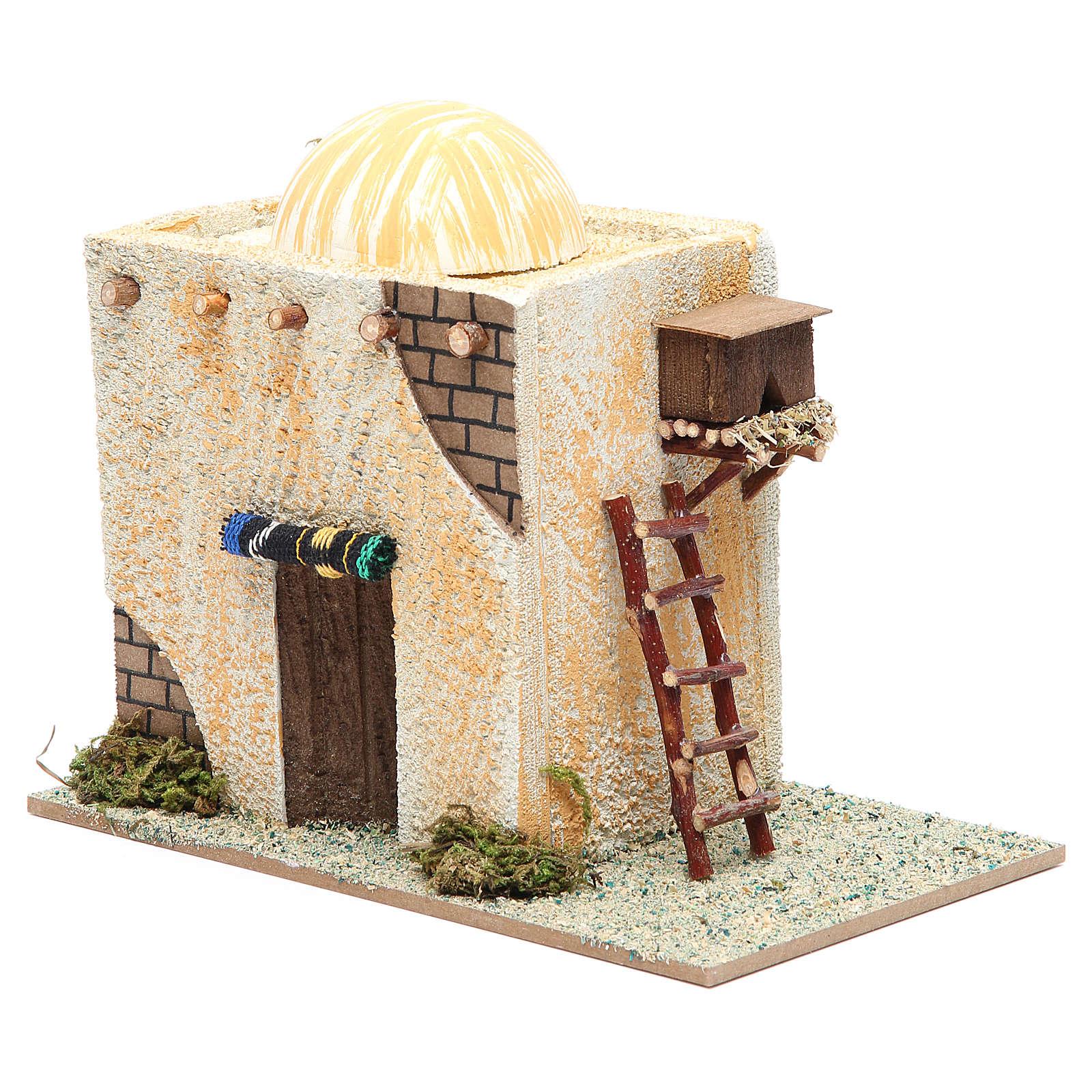 Maison arabe avec échelle 22x13x17 cm 4