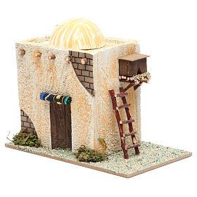 Maison arabe avec échelle 22x13x17 cm s2