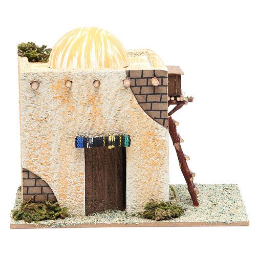 Maison arabe avec échelle 22x13x17 cm 1