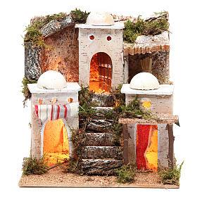Casas, ambientaciones y tiendas: Aldea árabe con luz 21x23xh.23cm
