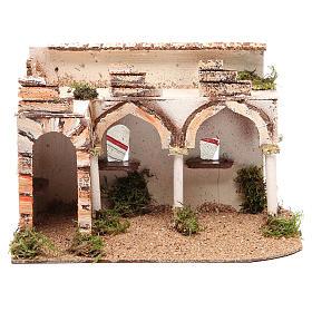 Palazzo con portico arabo 28x17xh.19 cm s1