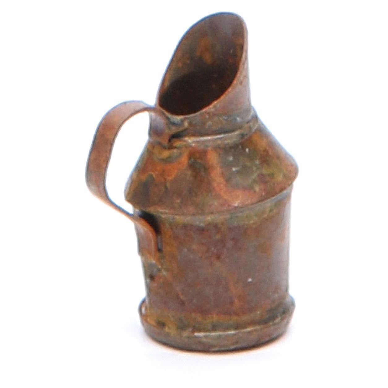 Brocca metallo antichizzata presepe fai da te 4