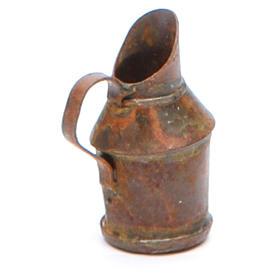 Brocca metallo antichizzata presepe fai da te s2