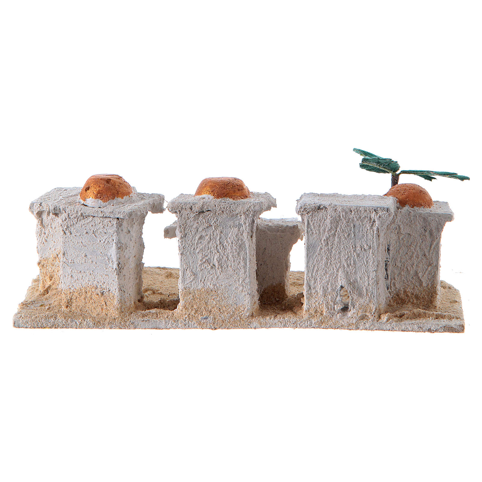 Nativity Arabian houses 8x15x10cm, assorted models 4