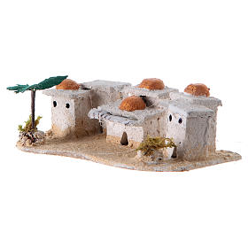 Nativity Arabian houses 8x15x10cm, assorted models s2