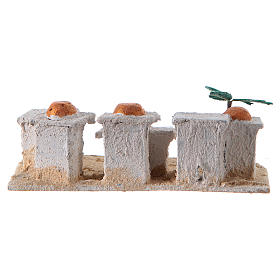 Nativity Arabian houses 8x15x10cm, assorted models s4