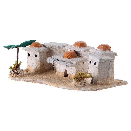 Nativity Arabian houses 8x15x10cm, assorted models 2