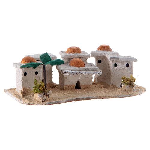 Nativity Arabian houses 8x15x10cm, assorted models 3
