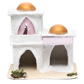 Casa araba presepe 21,5x23x15 cm s1