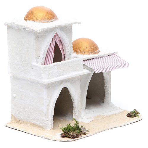 Casa araba presepe 21,5x23x15 cm 3