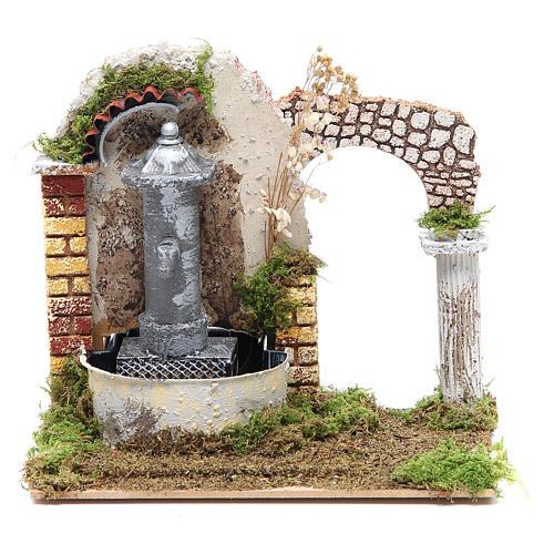 Fontana nasone presepe cm 18x20x14 1