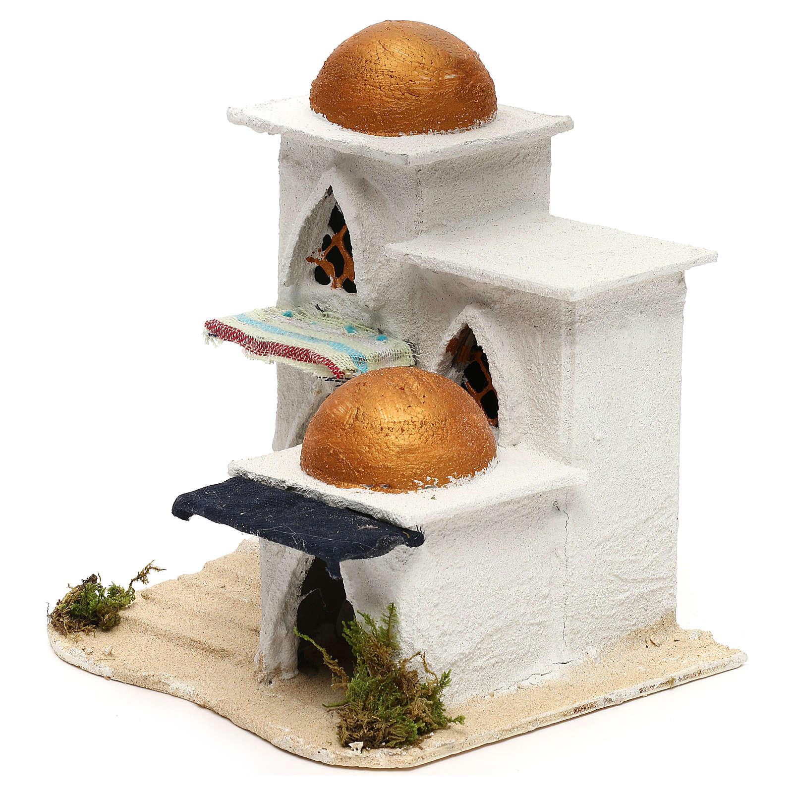 Nativity Arabian house 19x17x17cm 4